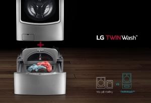 Chiếc máy giặt đáng mua nhất – LG TwinWash